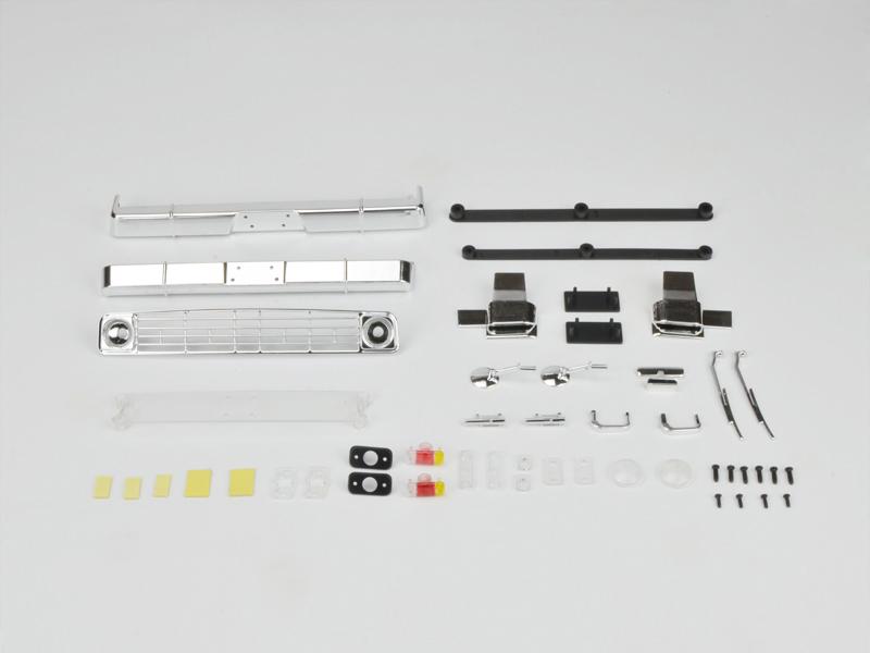 Carisma RC - SCA-1E Coyote Body Plastic Parts Set